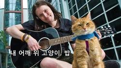 영화 내 어깨 위 고양이, 밥 줄거리 - 은혜 갚은 고양이