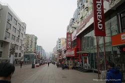 칭다오 타이동루 상업보행가 걸어보자