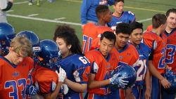 미국 고등학교의 미식축구, 풋볼, Football