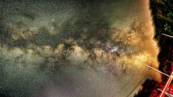나의 공주님과 바라본 은하수 여행  Milky way 촬영 팁