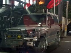 [목격]1993 현대 갤로퍼 숏바디 엑시드 터보오토매틱