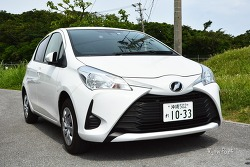 일본 오키나와여행 렌트카 뭘 빌릴까? 소형차 토요타 비츠(Toyota Vitz)