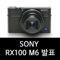소니 RX100M6 발표