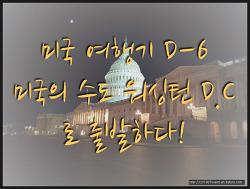 미국 여행기 D-6 part1 드디어 미국의 수도 워싱턴 D.C로 출발하다!