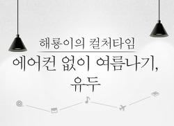 [해룡이의 컬쳐타임] 에어컨 없이 여름나기, 유두