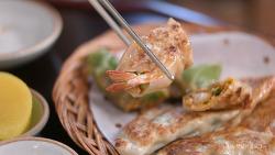 익선동  한옥거리 데이트, 줄서서 먹는 만두집 창화당