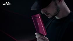 LG V30 라즈베리 로즈 TV CF속 모습과 이벤트 소개