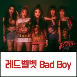 [레드벨벳 Red Velvet] Bad Boy 뮤비 가사/캡쳐/움짤
