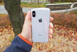 아이폰X 실버 스페이스그레이 후기 가격 저렴하게 올댓폰 에어팟까지