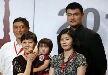 야오밍 가족의 위엄 가족 알면 더 놀라