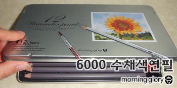 모닝글로리 6000 수채색연필(12색)