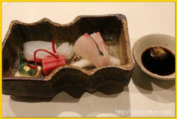 <구로카와 료칸> 노시유의 가이세키 요리