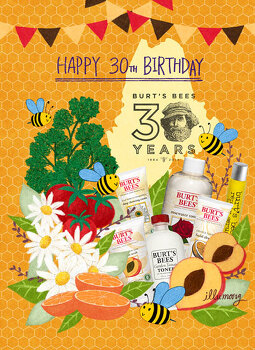 Burt's bees 30th years