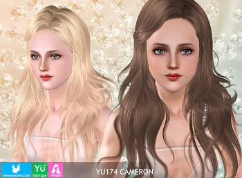 NewSea-SIMS3-hair-YU174-Cameron