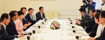 서태후를 연상케 하는 박 대통령의 호화 오찬, 민심 없는 밥상의 씁쓸함