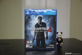 PS4 언차티드4 해적왕과 최후의보물 밀봉
