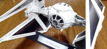 Star Wars TIE interceptor