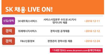 SK그룹 채용소식 12월 1주차