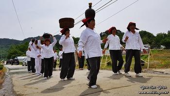 두월마을에서 찾은 농경문화의 보석! 말천방 들노래 한마당축제