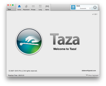 Mac OSX Taza [맥용 한글 타자 앱] [Taza]