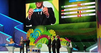 2014 브라질월드컵 조추첨 결과 한국H조