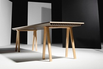 방의 열을 흡수  ZEF 클라이매틱 테이블