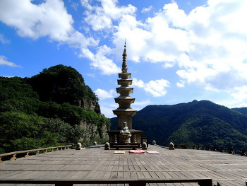 [88번째 산행] 소금강 청량산, 이름만큼 풍경도 아름다운 곳