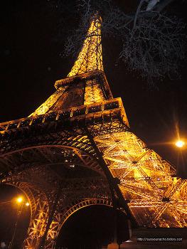프랑스 파리 에펠탑 야경(서유럽여행)