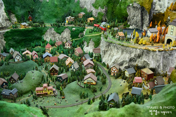 동화 속 예쁜 마을 같아! 가평 에델바이스 스위스테마파크