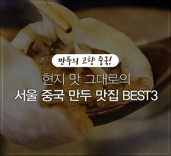 만두의 고향 중국 맛을 그대로! 서울 중국 만두 맛집 BEST3