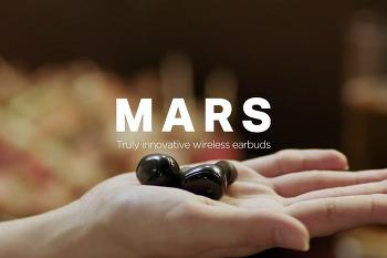동시통역기능 탑재 코드프리 이어폰 네이버(라인) 마스(MARS)