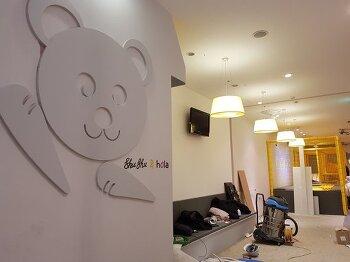 키즈 올라 Kids hola 구리롯데백화점 - 로고디자인, 메뉴 등 디자인 작업
