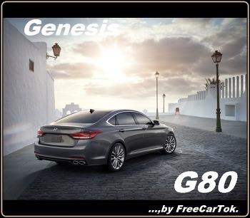 제네시스 G80 중고차 가격 세금 비용 확인