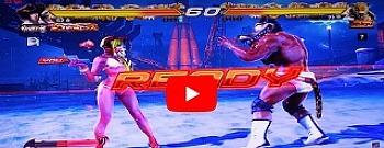 8/31 철권7 엘리자 초보자 가이드 운영팁 온라인 대전 강월드 영상 (PC Tekken7 / GTX850M)