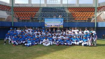 라오스 야구 대표팀, 태국과 평가전 완료