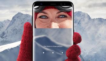 삼성 - 갤럭시 S9 시리즈에는 성능이 향상된 300만 화소 홍채인식 카메라가 탑재될 예정