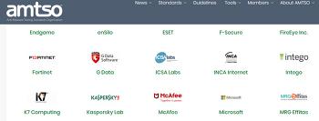 잉카인터넷, 국제 안티멀웨어 테스트 표준화 기구(AMTSO) 가입