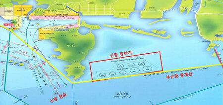 부산 신항 정박지 현황 및 지도(MAP) : 부산 신항 시설 6 - 부산항 시설 현황 13 / 부산 신항 정박지