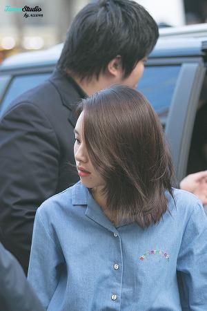 [160909] 스프리스 팬싸인회 출근 - 채영이