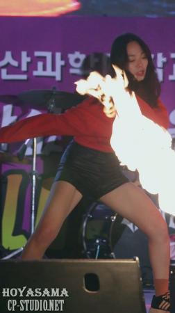 [16.11.03] 울산과학대 리시안 불타오르네(FIRE) 커버댄스 직캠 by hoyasama