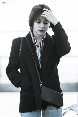 [170427] 인천공항 출국 - 채영이
