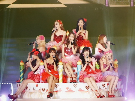 13/06/09 SNSD Concert Girl's & Peace