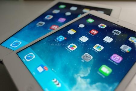 Apple :: iPad Mini / iPad2 상콤한 iOS7 업그레이드 후기와 차이점