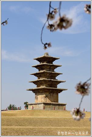 전북 익산 왕궁리오층석탑