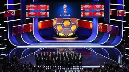 [오피셜] 2018 피파 월드컵 조추첨 결과