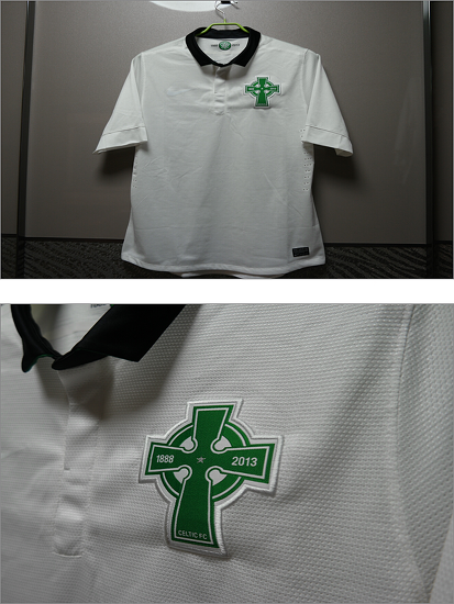 2012-2013 Celtic 125th Anniversary Player Issue Shirt S/S