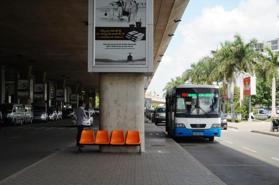 호치민 공항 - 데탐거리 가는 방법 공항 버스 109번 152번