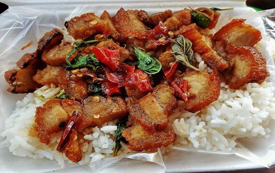 [음식]태국에서 이런음식 봉지에 넣고 다니면 든든