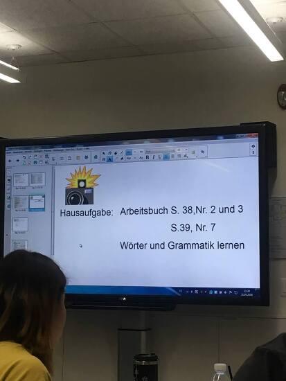 Goethe Institut 주한독일문화원 독일어 수업