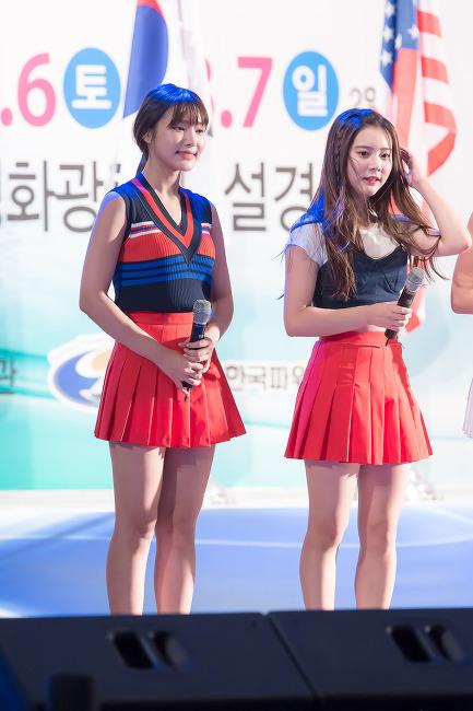 160806 국제파워보트대회 기념 축하무대 다이아#2